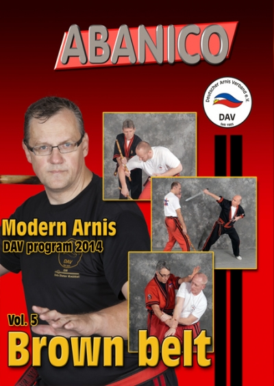 Modern Arnis Brown Belt - Program - English