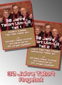 Jubiläums Lehrgang 30 Jahre Tatort Zentrum Ulm - Teil 1 + 2