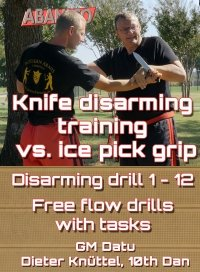Download video knife disarming ice pick-grip