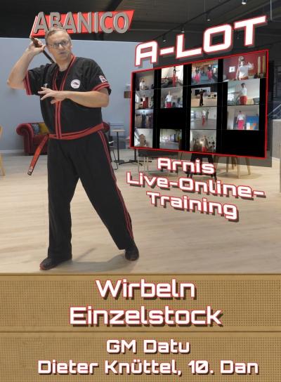 Arnis Live-Online-Training-Wirbeln