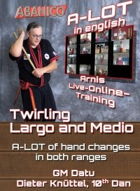 Single Stick Twirling largo Medio