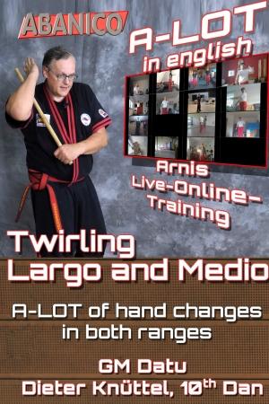 Single Stick Twirling largo Medio
