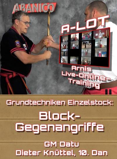 Einzelstock Grundlagen: Block-Gegenangriffe