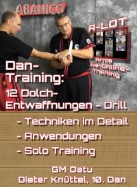 Dan Training: 12 Dolch-Entwaffnungen