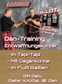 Dan-Training: Entwaffnungskonter