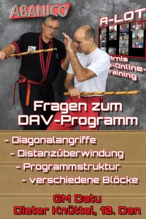 Fragen zum DAV-Programm