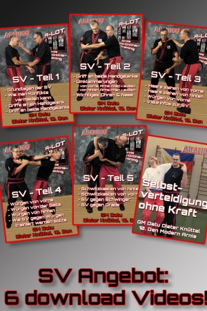 6 Selbstverteidigungs Videos